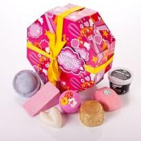 dag 1 win tien-daagse Sweetie Pie cadeaupakket van lush