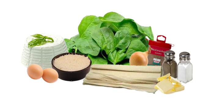 Collage Recept spinazie ricotta