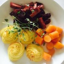 wortels karameliseren