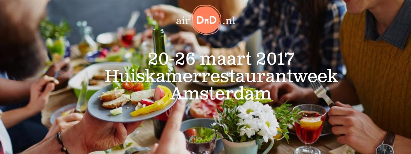 AirDnD-Huiskamerrestaurantweek