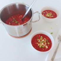 Tomatensoep chinees