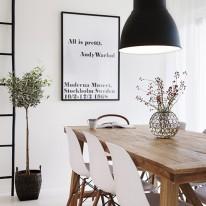 Scandinavisch wonen lifestyle for Poster arredo casa
