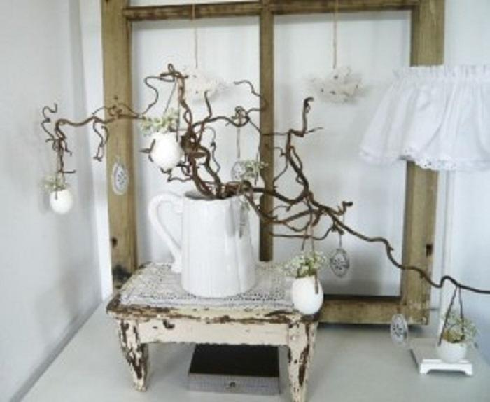 Maak je huis spring ready lifestyle for Takken decoratie voor het raam