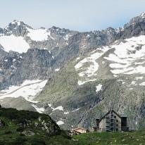 Collage Franz Senn hut