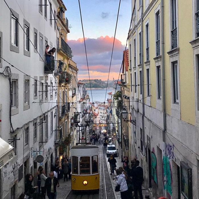 Lissabon hotspot