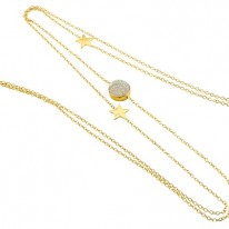 Just Marie Jewellery-NeckG8 pastel wit-99,95 euro-www.just-marie.nl