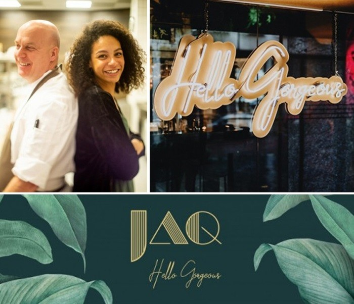 restaurant JAQ collage